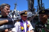 Kapal AL Australia sandar di Pelabuhan Hatta Makassar