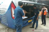 Dishub Bantul periksa kelengkapan bus menghadapi mudik Lebaran