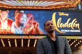Kekhawatiran Will Smith perankan jin di 'Aladdin'