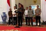 Presiden Joko Widodo minta segala perselisihan Pemilu diselesaikan melalui MK