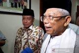 Ma'ruf Amin ajak Prabowo-Sandi bangun bangsa bersama