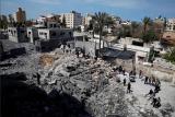 Israel lancarkan serangan balasan terhadap Hamas di Jalur Gaza