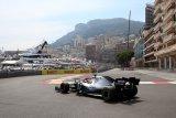 Pebalap  Lewis Hamilton berhasil amankan position GP Monaco