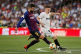 Raih juara La Liga, Pique: Barca terperosok lewati pekan-pekan terpahit
