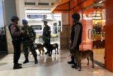 K-9 TNI/Polri diterjunkan membantu pengamanan stasiun Yogyakarta
