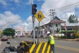 Dishub Mitra tindaklanjuti pembongkaran traffic light