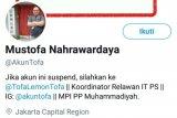 Tanggapan warganet terhadap penangkapan Koordinator IT BPN Prabowo-Sandiaga