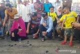 MRPB Peduli lepas ratusan tukik di Pantai Indah Maligi Sumbar