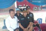 Puluhan supir  AKDP tes urine di terminal Simpang Empat