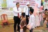 OJK Sultra berbagi donasi Ke Panti Nurul Maghfirah