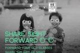 Berbagi pada sesama dengan sumbangkan kacamata bekas