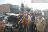 Dua korban mobil terbakar diketahui warga Kota Lubuklinggau