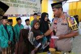 Polres Lampung Barat buka puasa bersama anak-anak pondok pesantren