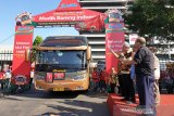 Pedagang warung makan Indomie mudik gratis bersama Indofood