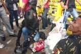 Polda Sulbar  perketat pemeriksaan barang bawaan penumpang pemudik