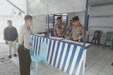 Kapolres Minahasa Utara tinjau pos pengamanan Idul Fitri