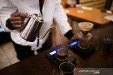 Empat langkah racik kopi tubruk versi kafe
