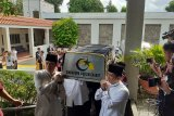 Jenazah Ibu Ani Yudhoyono tiba di KBRI
