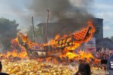 Bupati Rohil harapkan Festival Bakar Tongkang berjalan aman dan lancar
