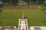 Meski libur, ASN Kota Magelang tetap upacara Hari Lahir Pancasila