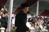 Kalimat yang diucapkan AHY saat pemakaman Ani Yudhoyono
