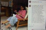 Annisa Pohan unggah video Ani Yudhoyono yang kembali bugar di RS