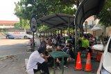 Arus kedatangan penumpang di Terminal Giwangan Yogyakarta menurun