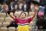 Nishikori taklukkan Paire, jumpa Nadal di perempat final