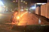 Tradisi pasang lampu sambut Lebaran di Minahasa Tenggara
