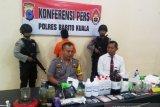 Polisi grebek rumah di Batola jadi tempat pembuat narkoba