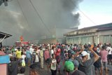Polisi: Kerugian para korban kebakaran Pasar Timika capai miliaran rupiah