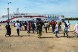 Arus balik penumpang di Tanjungpinang melonjak