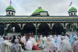 Jamaah Naqsabandiyah di Mataram sudah berlebaran