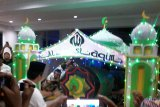 Miniatur masjid di Manado semarakkan pawai takbiran