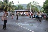 Waka Polres Yapen pimpin pengamanan shalat Id di Serui