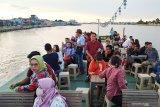 Promosi wisata perahu hias di Sungai Kapuas