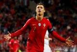 Ronaldo cetak hattrick antar Portugal ke final UEFA Nations League