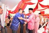 24 kepala daerah hadiri griya Gubernur Sulsel