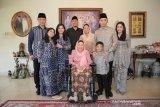 AHY dan keluarga bersilaturahmi ke kediaman Sinta Nuriyah Wahid