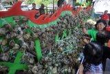 Padang raih rekor MURI penyajian bakcang ayam dan lamang baluo terbanyak