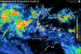 BMKG prakirakan cerah berawan dan hujan lokal di Lampung
