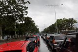 Sejumlah ruas jalan di Padang macet