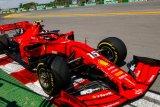 Pembalap Ferrari ungguli Mercedes di sesi latihan GP Kanada