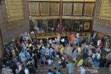 Objek wisata Al Quran Al Akbar gandus ramai pengunjung