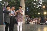 Fildan dan Wali Kota Taipei tampil sepanggung hibur TKI