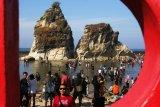 Ribuan warga pesisir Lebak Banten masih bertahan di pengungsian