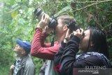 Warga Palu isi liburan lebaran di obyek wisata alam