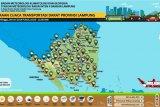 BMKG prakirakan Lampung cerah berawan hingga hujan lokal