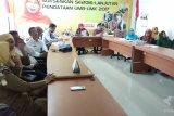 Stok meningkat harga gabah di Lampung turun