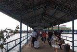 Arus balik di Pelabuhan Sri Bintan Pura mulai normal